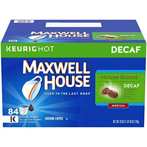 Maxwell House Decaf House Blend Keurig K Cup Coffee Pods (84 ()