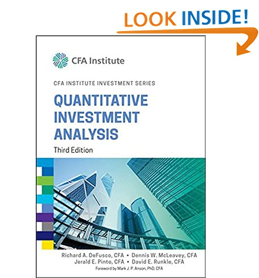 Quantitative Analysis AmazonCom