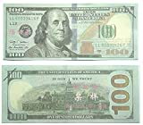AL'IVER FAKE MONEY COPY MONEY $10000 PROP MONEY Realistic Double Sided Money Stack 100 $100 Bills FULL PRINT 100 dollar, For Education, Movices, Fun, Play, Gifts …