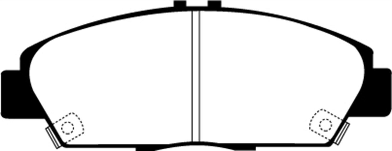 EBC Brakes UD568 Ultimax OEM Replacement Brake Pad