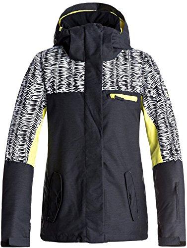 Roxy Womens Jetty Block Jacket Medium True Black - Block Jacket