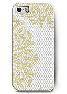 Popular Designed Stylish Series Case for iPhone 5 5S 5G with the Design of Brief Flower embroidery BY Xincase