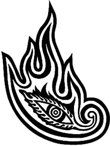 Amazon.com: Tool Flaming Eye Rock Band Vinyl Decal Sticker ...