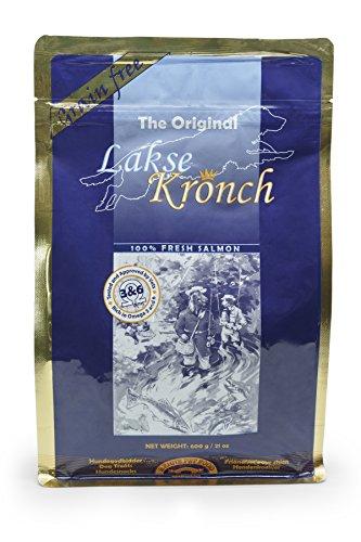 Lakse Kronch 100 Percent Salmon Dog Treats / Snacks / Biscuits (21.2 oz)