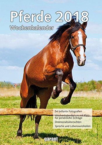 Wochenkalender Pferde 2018