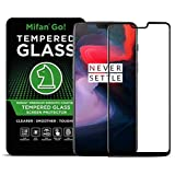 OnePlus 6 Mifan 3D Curved Tempered Glass Fully Covered Screen Protector Anti Fingerprint Black