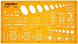 Mechanical Engineering Ellipse Screws Nuts Symbols Drawing Template Stencil by Plantec