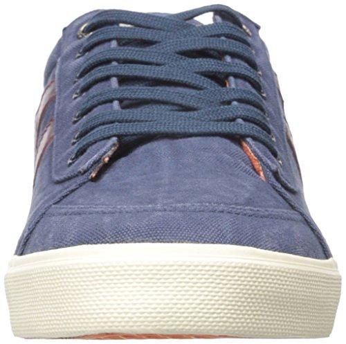 Gola Menns Komet Mote Sneaker Navy / Burgunder / Orange