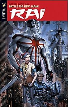 Rai Volume 2: Battle for New Japan (Rai Tp)