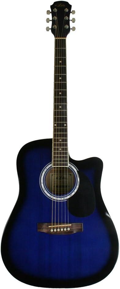 Aria 7A16A - Guitarra electrificada, color azul