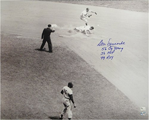 Don Newcombe Hand Signed Autograph 16x20 Photo Brooklyn Dodgers Stats ROY GV 983