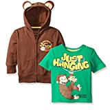 Curious George Zip Up Hoodie and Short Sleeve Tee (Toddler)
