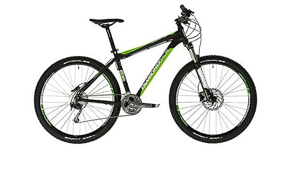 Diamondback Response Comp - Bicicleta de Cross Country, Color Negro/Verde, 20