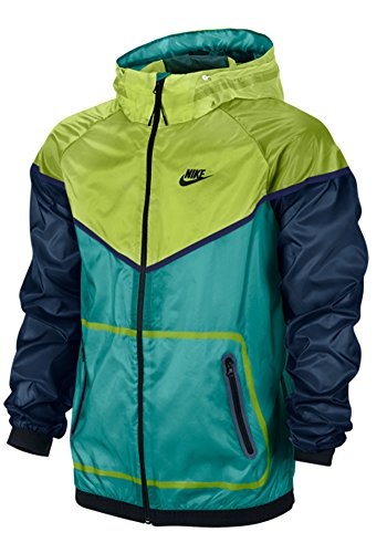 Nike Mens Tech Windrunner Running Jacket Green