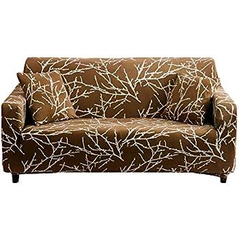 Amazon Com Hotniu 1 Piece Stretch Sofa Couch Covers