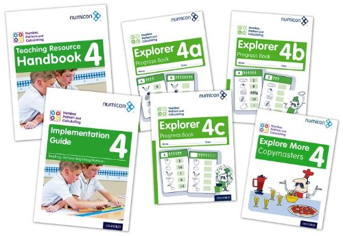 Download Numicon: Number, Pattern and Calculating 4 Easy Buy Pack pdf epub