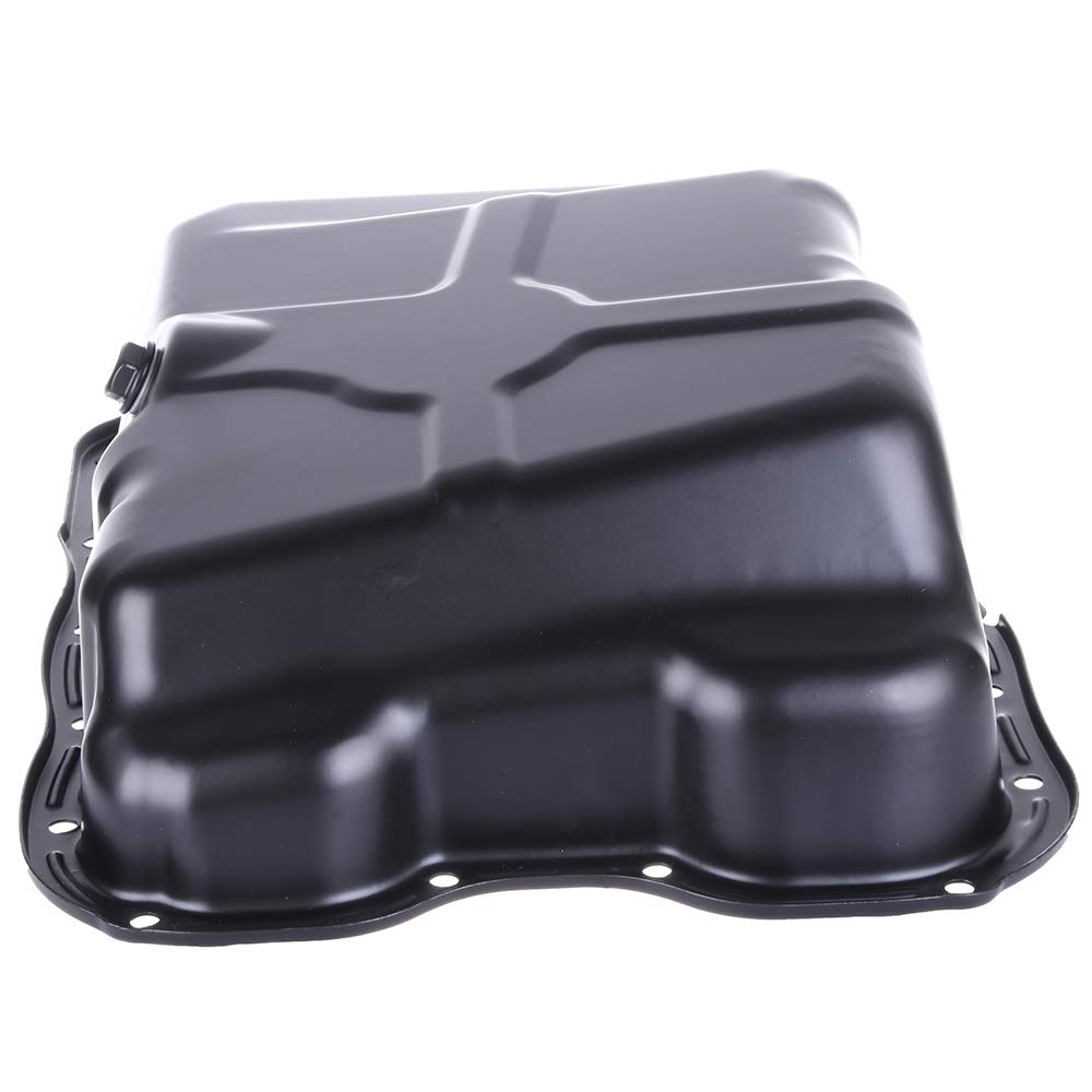 ECCPP Engine Oil Pan Drain Plug Kit Fit for 09 10 Chrysler Sebring Town Country Dodge Avenger Oil Sump Pan Compatible with 264-855 Engine Oil Drain Pan
