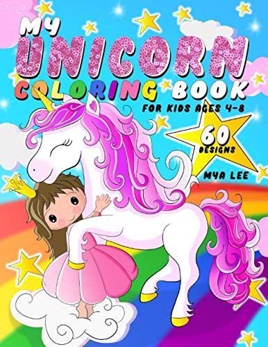 Printable Spring Coloring Pages - My Unicorn Coloring Book For Kids