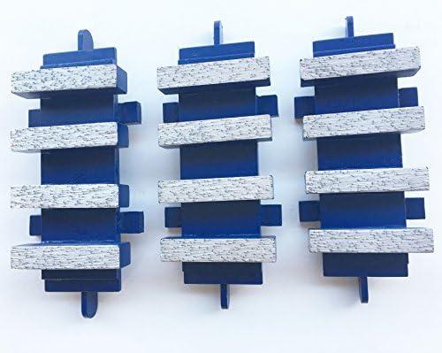 3PK-Dyma-Serts EDCO Diamond Grinding Blocks Floor Grinders Stow-TOP QUALITY