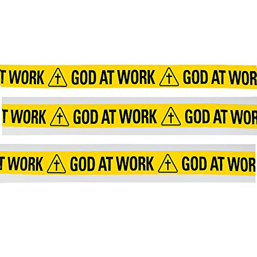 (God at Work Construction Zone Plastic)