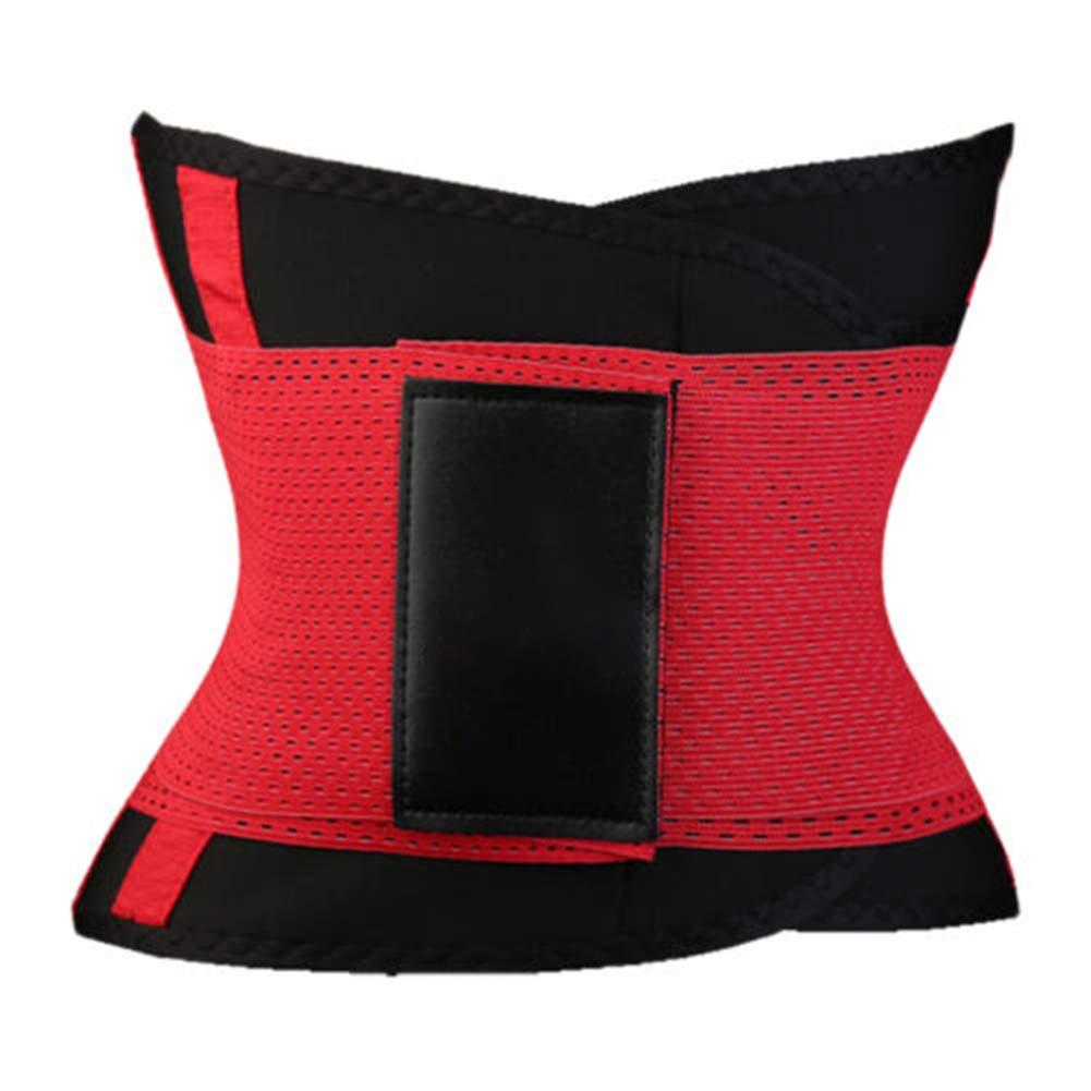 Rosa XL obiqngwi Mode Sport Taille Trimmer Fitness Frauen Trainingsg/ürtel Gummiband Slim Body Shaper