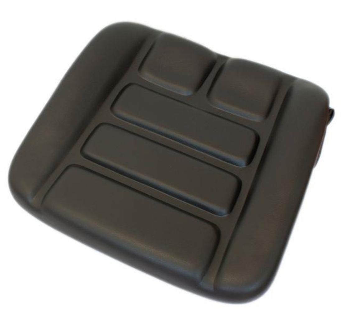Cuscino cuscino adatto Grammer DS85/90 Ar PVC nero schlepper Stapler Linde 1310561