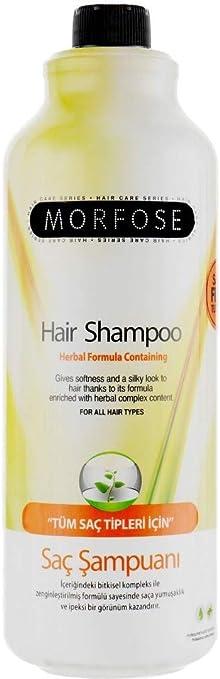 morfose fórmula de hierbas salt-free pelo champú para todo tipo de cabello con queratina y proteínas de trigo – condiciones y máxima – 1000 ml