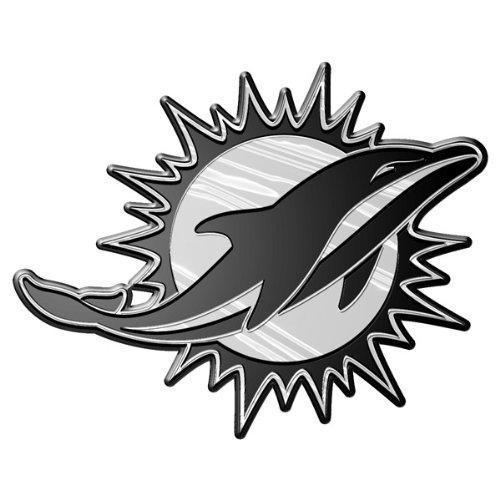 NFL Miami Dolphins Chrome Automobile - Dolphin Miami Store