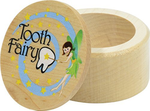 Tooth Fairy Box - Made in USA Maple Landmark 41020