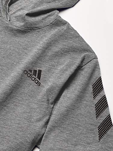 adidas Boys' Big Short Sleeve Hooded T-Shirt 3
