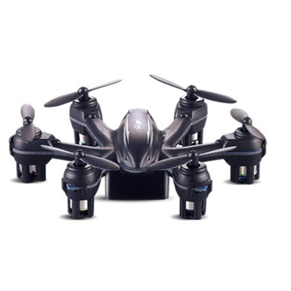 Mini Gravity Induction Control Six-Axis Aircraft UAV Aviation Model Remote Control Aircraft (Black)