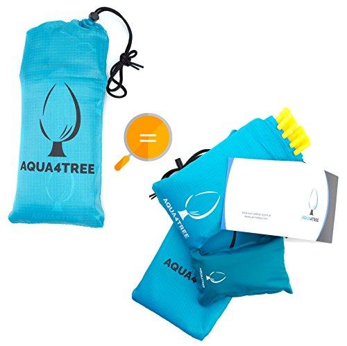 Sports Pocket Blanket Pillow (AQUA4TREE Waterproof & Sandproof Outdoor Pocket Blanket (55