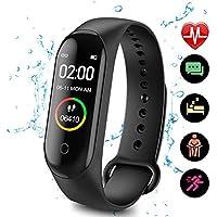 LVYIMAO monitor aktywności M4, inteligentny zegarek M4, opaska na nadgarstek ciśnienie krwi, pulsometr, krokomierz…