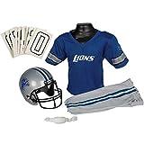 Franklin Sports NFL Detroit Lions Youth Licensed Deluxe Uniform Set, Large
