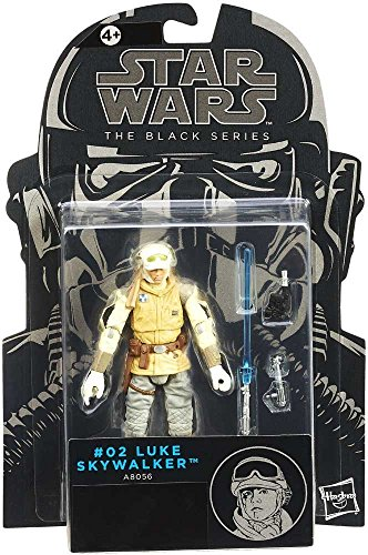 Luke Skywalker Wampa Attack 3.75 Inch Action Figure empire strikes back Star Wars The Black Series Hoth outfit collectible figure