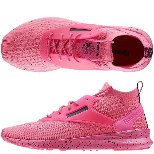 Reebok Mens Zoku Runner Hm Sneaker Solare Rosa / Nero / Bianco