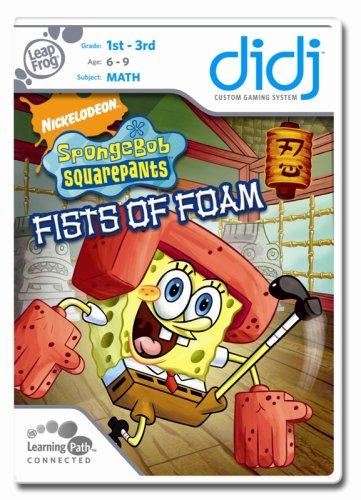 Leapfrog Didj Learning Game - LeapFrog  Didj Custom Learning Game SpongeBob SquarePants:  Fists of Foam