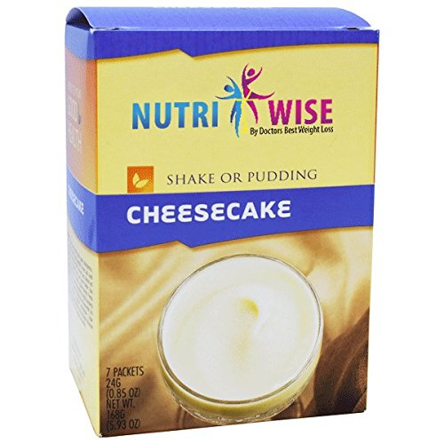 NutriWise - Cheesecake Protein Diet Shake/Pudding (7/Box)
