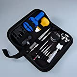 Yiwa JT6222 Watch Repair Tool Kit, 13-Piece