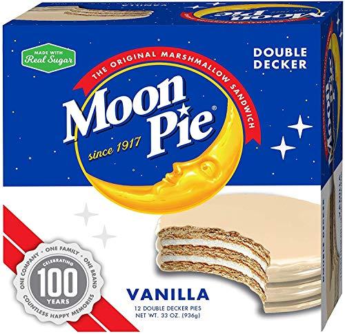 - MoonPie Double Decker, Vanilla, 2.75 oz, 12 Count Pack