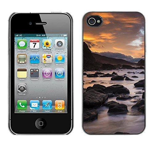 Premio Sottile Slim Cassa Custodia Case Cover Shell // F00007023 paysage // Apple iPhone 4 4S 4G