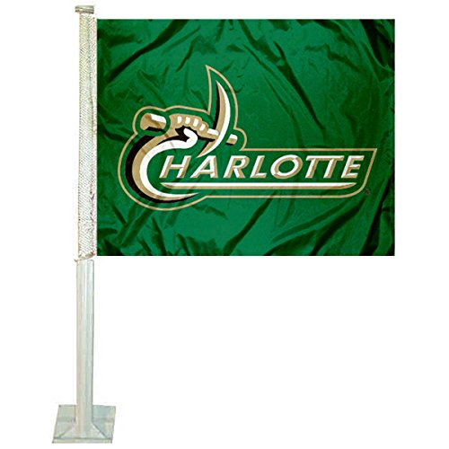College Flags and Banners Co. Charlotte 49ers Car Flag ()