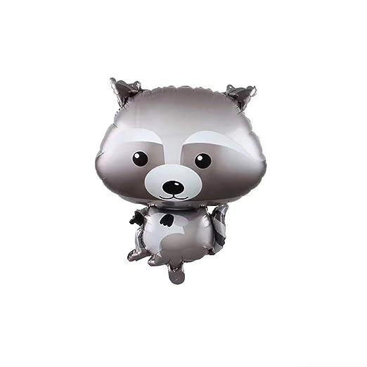 Globos de plástico de Qinlee, con diseño de animales ...