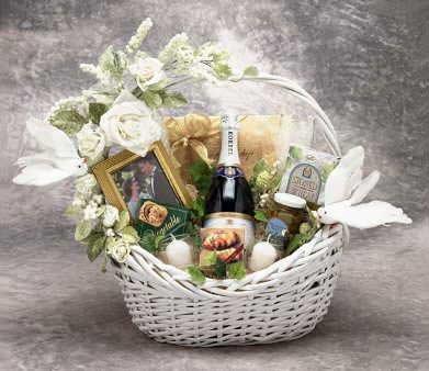Wedding Wishes Gift Basket -Large