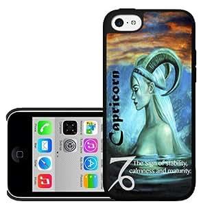 Capricorn Horoscope Hard Snap on Phone Case (iPhone 5c)