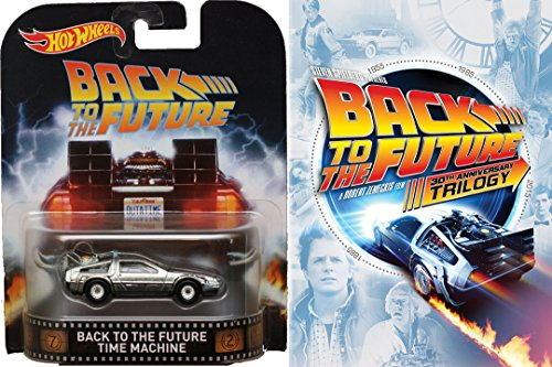 Back to the Future Ultimate Trilogy DVD & Delorean Time Machine Hot Wheels Car Set Part 1/2/3 Collection 5 Disc