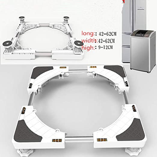 YQ&TL Base de la Lavadora Ajustable Soporte Multifuncional Base de ...