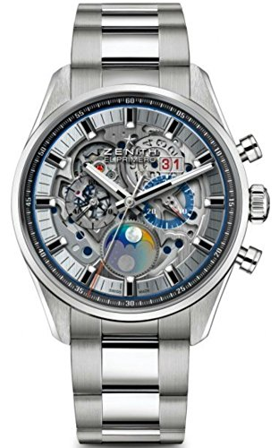 - Zenith Chronomaster El Primero Grande Date Moon Full Open Mens Watch 03.2530.4047/78.M2530