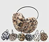OPT. 12 Pairs Faux Fur Animal Print Earmuffs Headband Wholesale
