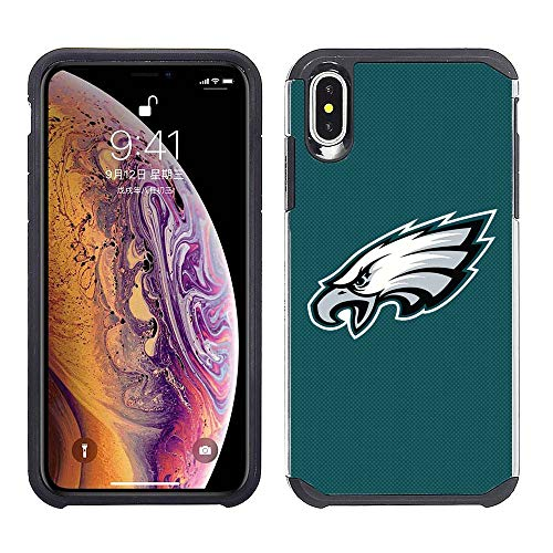 Prime Brands Group Cell Phone Case for Apple iPhone Xs Max - Philadelphia Eagles